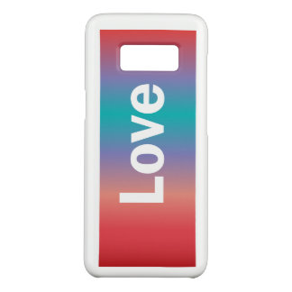 Colorful Love Case-Mate Samsung Galaxy S8 Case