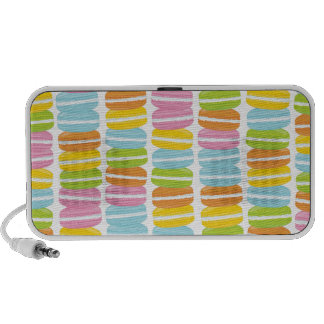 Colorful Macarons Stack Pattern Speaker System