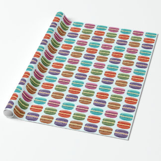 Colorful Macarons Wrapping Paper