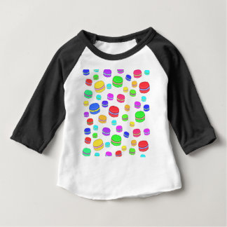 Colorful macaroons baby T-Shirt
