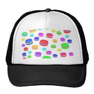 Colorful macaroons cap