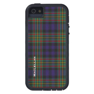 Colorful MacLellan Clan Tartan Plaid iPhone 5 Cover
