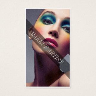 Colorful Makeup Business card