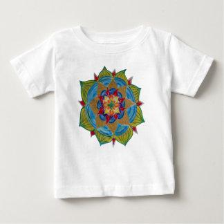 Colorful Mandala Baby Fine Jersey T-Shirt