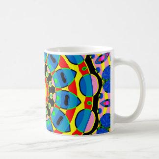 Colorful Mandala Classic White Coffee Mug