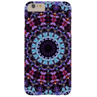 Colorful Mandala Pattern Purple And Blue Pattern Barely There iPhone 6 Plus Case