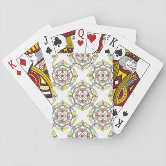 Colorful Mandala playing cards