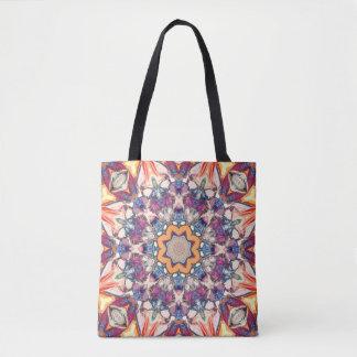 Colorful Mandala Tote Bag