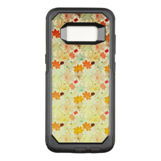 Colorful Maple Leaf Pattern OtterBox Commuter Samsung Galaxy S8 Case