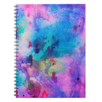 Colorful Marble Notebook