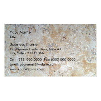 Colorful Marble Patterns Pack Of Standard Business Cards
