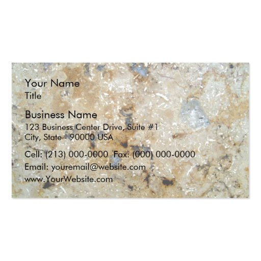 Colorful Marble Texture Business Card Templates
