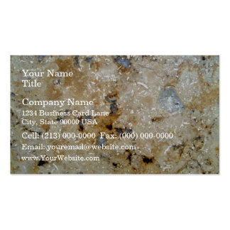 Colorful Marble Texture Business Card Template