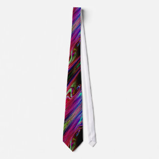 COLORFUL MARBLED DESIGN TIE