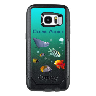 Colorful Marine Creatures OtterBox Samsung Galaxy S7 Edge Case