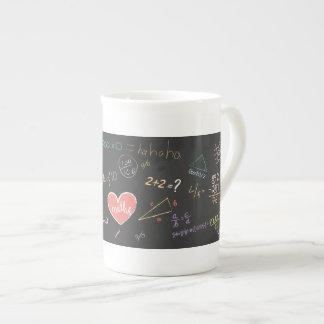 Colorful Mathematics Formula Mug