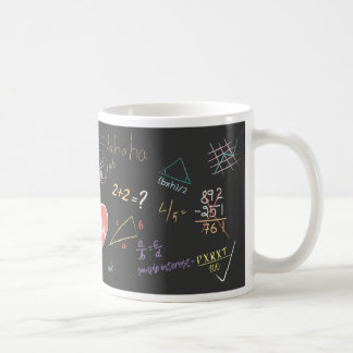 Colorful Mathematics Formula Mug