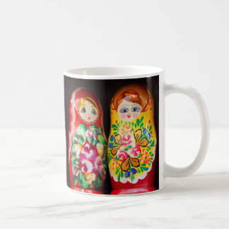 Colorful Matryoshka Dolls Coffee Mug