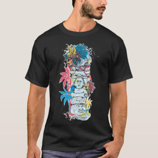 Colorful Mayan Aztec Culture Noteworthy T-Shirt
