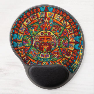 Colorful Mayan Calendar Gel Mouse Pad