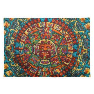 Colorful Mayan Calendar Placemat