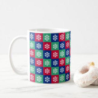 Colorful Merry And Bright Christmas Coffee Mug