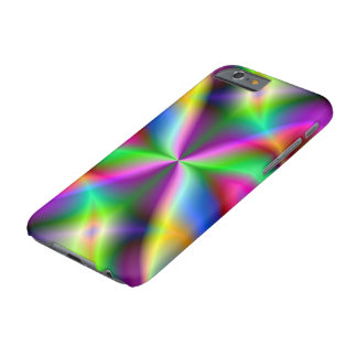 Colorful Metallic Fractal Lustre Barely There iPhone 6 Case