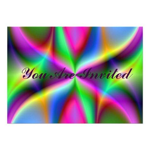 Colorful Metallic Fractal Lustre Announcement