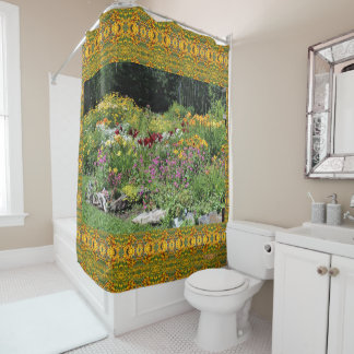 Colorful Mid-Summer Gardens! Shower Curtain