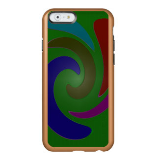 Colorful Mod Green Abstract Incipio Feather® Shine iPhone 6 Case