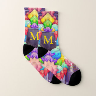 Colorful Modern Abstract Custom Monogram 1