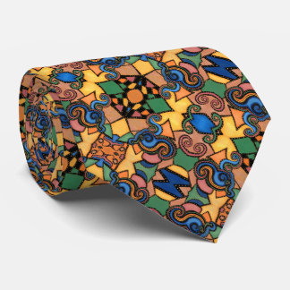 Colorful Modern Abstract Pattern Tie