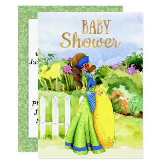 Colorful Modern Boho Baby Shower Invitation