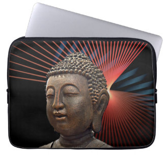 Colorful Modern Buddha Laptop Computer Sleeves