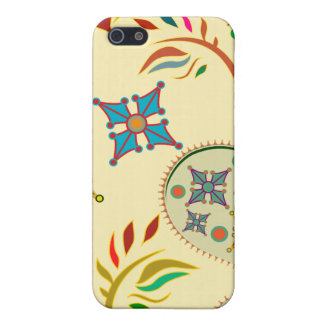 Colorful Modern Floral Pern iPhone 5 Case