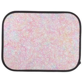 Colorful Modern Strings - Pearl Pastel Car Mat
