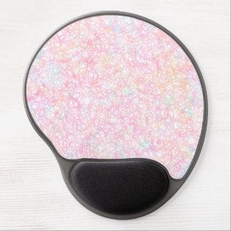 Colorful Modern Strings - Pearl Pastel Gel Mouse Pad