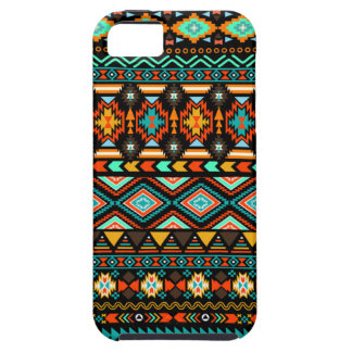 Colorful Modern Tribal Pattern Turquoise Andes iPhone 5 Cases