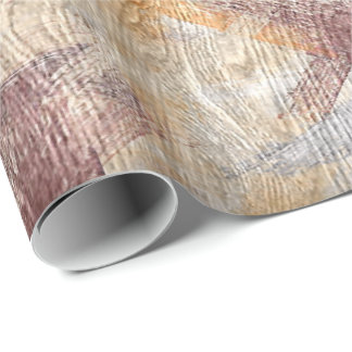 Colorful Modern Wood Grain Background #29 Wrapping Paper
