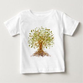 Colorful Modernist Tree 13 Baby T-Shirt