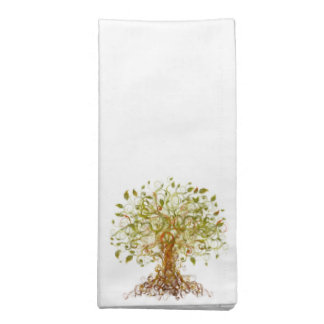 Colorful Modernist Tree 13 Cloth Napkin