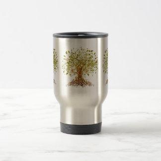 Colorful Modernist Tree 13 Travel Mug