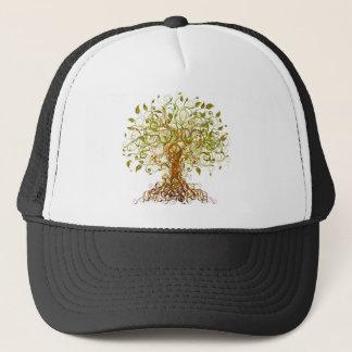 Colorful Modernist Tree 13 Trucker Hat