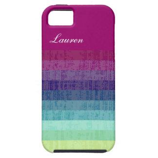 Colorful Monogram iPhone 5 Case