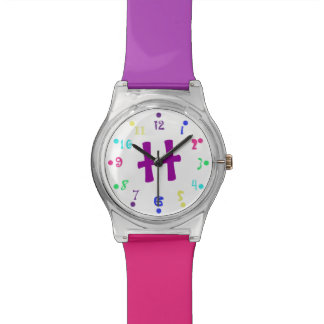 Colorful Monogram Wrist Watch