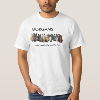 Colorful Morgans T-Shirt