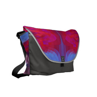 Colorful Mosaic Abstract Courier Bag