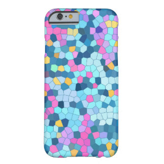 Colorful Mosaic iPhone 6 case Barely There iPhone 6 Case