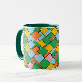 Colorful Mosaic Pattern Coffee Mug