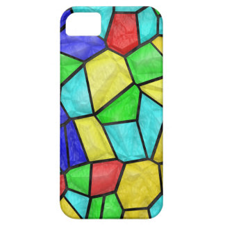 Colorful Mosaic Stained Glass iPhone 5 Case